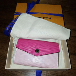 Louis Vuitton Multicartes Rose Ballerine Wallet 🌺